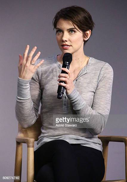 Apple Store Soho Presents Meet the Actor Lauren Cohan 'The Walking Dead' at Apple Store Soho on February 9 2016 in New York City