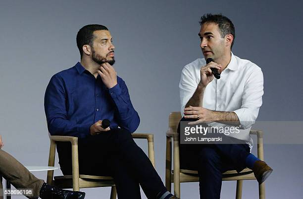 Apple Store Soho presents Meet the Filmmaker Ezra Edelman and Connor Schell 'OJ Made In America' at Apple Store Soho on June 7 2016 in New York City