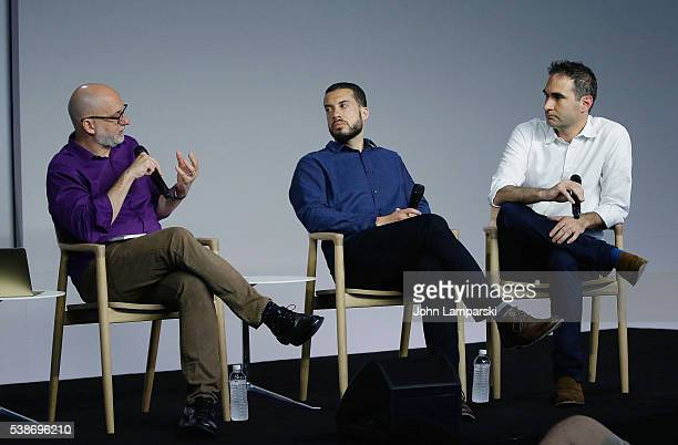 Apple Store Soho presents Meet the Filmmaker Ezra Edelman and Connor Schell 'OJ Made In America' interviewed by Joe Newmeyer at Apple Store Soho on...