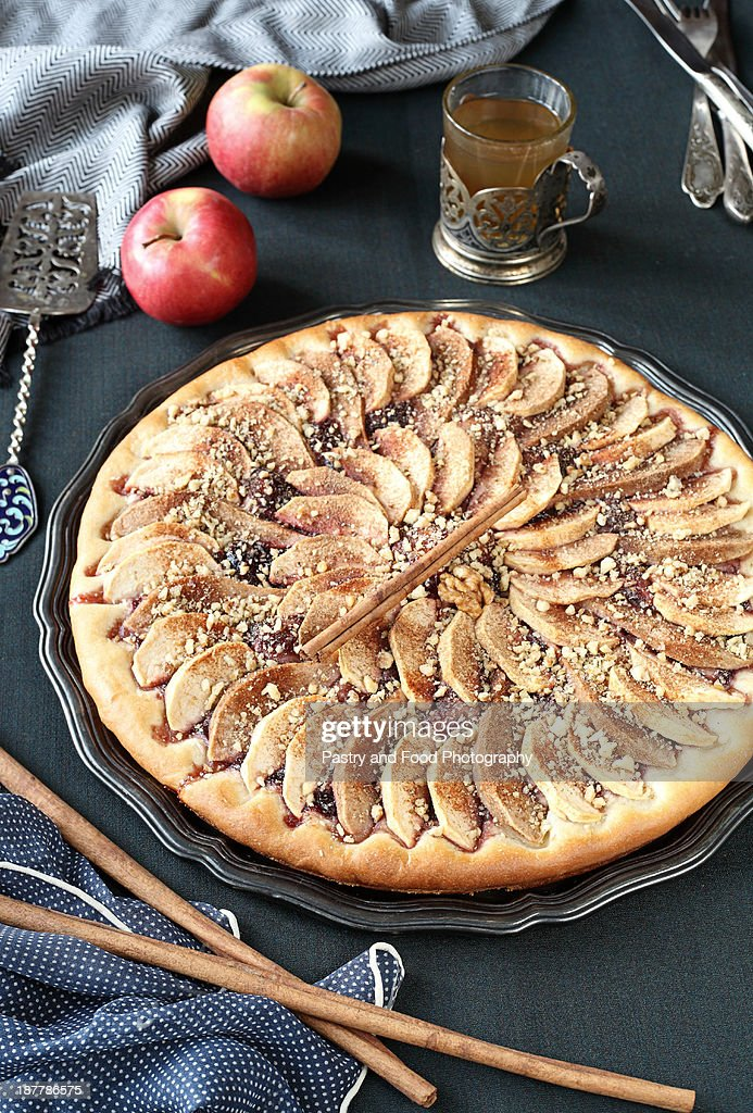 Apple tart : Stock Photo