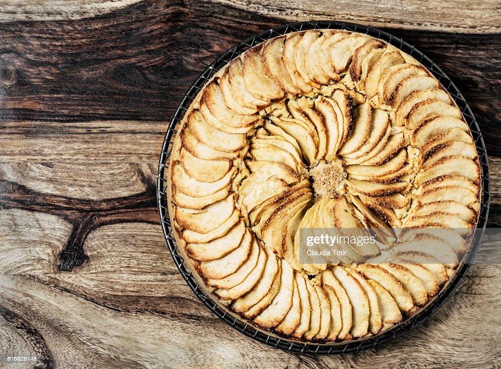 Apple tart : Stock Photo