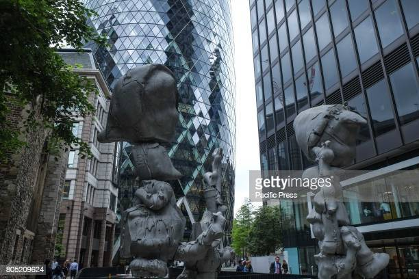'Apple Tree Boy Apple Tree Girl' by Paul McCarthy 2010 Sculpture in the City of London returns for the seventh year to the Square Mile with...