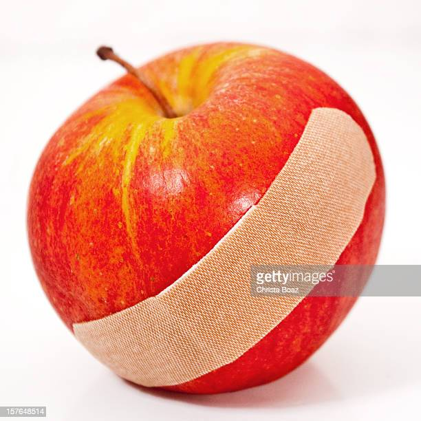 Apple with Bandage
