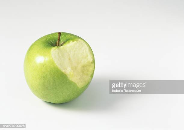 Apple with bite missing