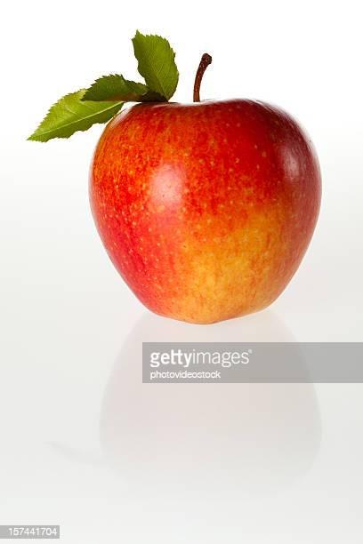 XXL-Apfel mit Schneidepfade