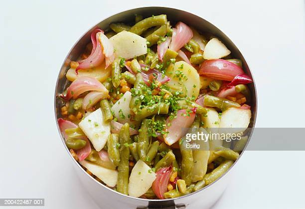 Apples and Beans with Bacon