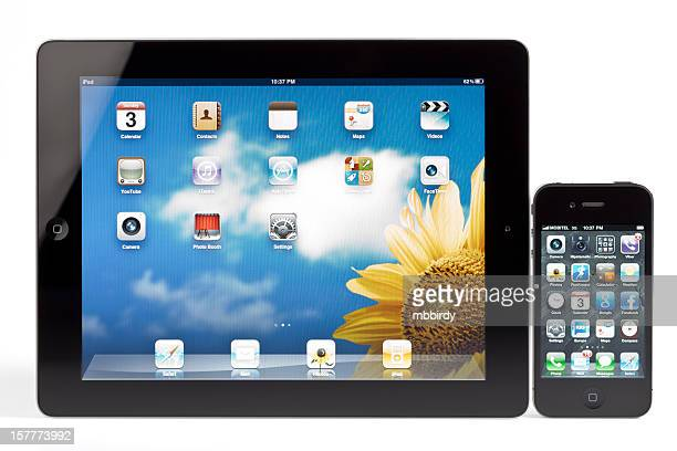 Apple's iPad 2 and iPhone 4