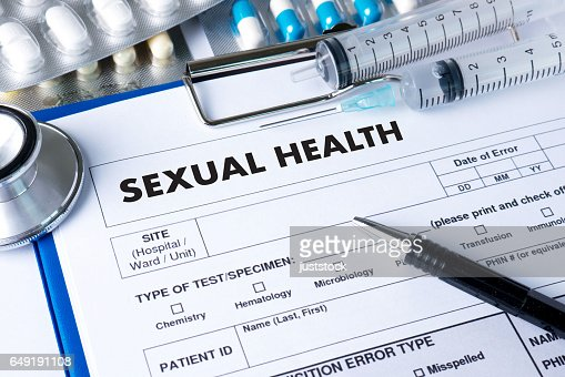 SEXUAL HEALTH    , Application Concept  health care : Stock Photo