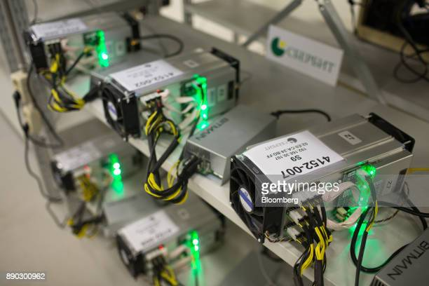 Application specific integrated circuit devices and power units manufactured by Bitmain Technologies Inc used for cryptocurrency mining operate at...