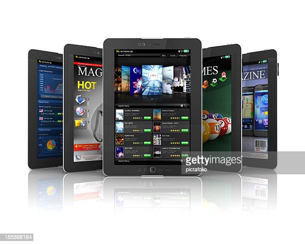 applications on Tablet PC