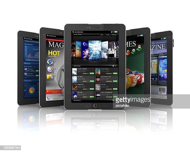 applications pour tablette