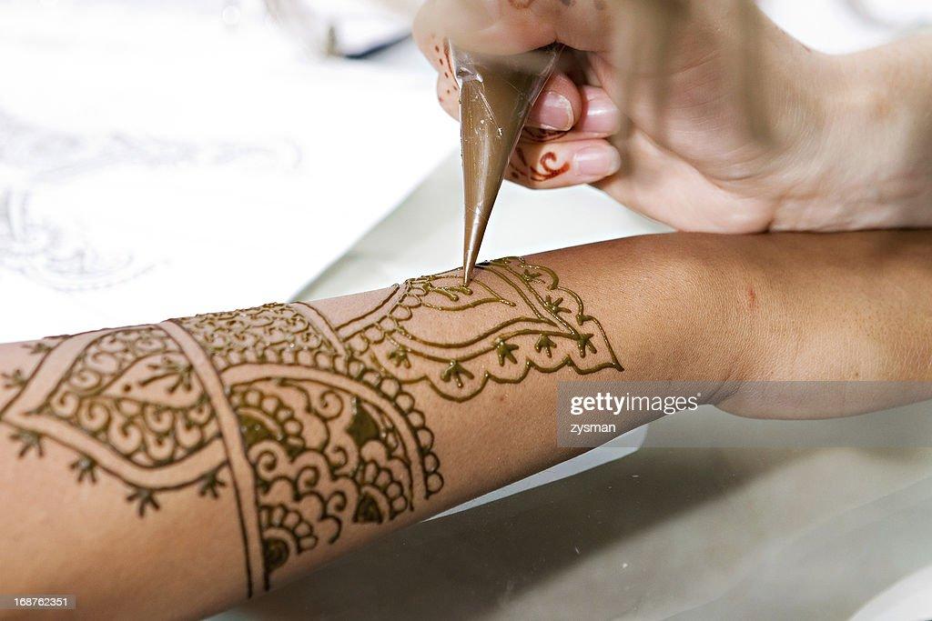 Как сделать татуировку хной фото 382