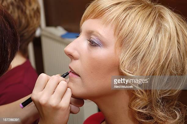 Applicazione di make-up