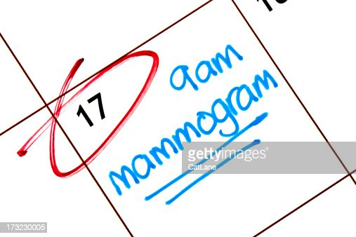Appointment for Mammogram