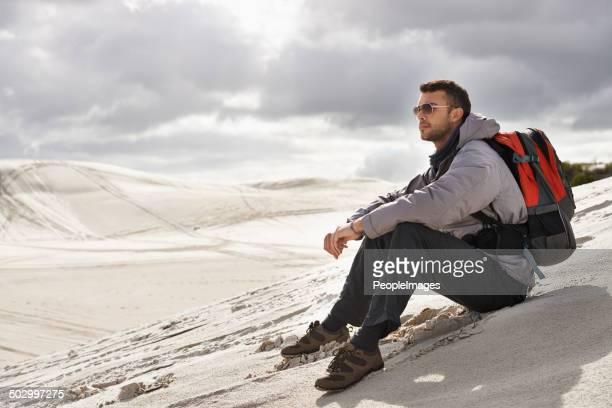 Apprécier la beauté de solitude dans la nature