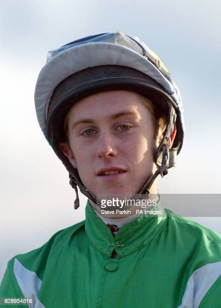 Apprentice Jockey Luke Fletcher at Southwell races