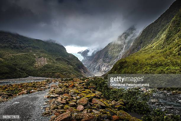 Approach to Franz Josef Glacier