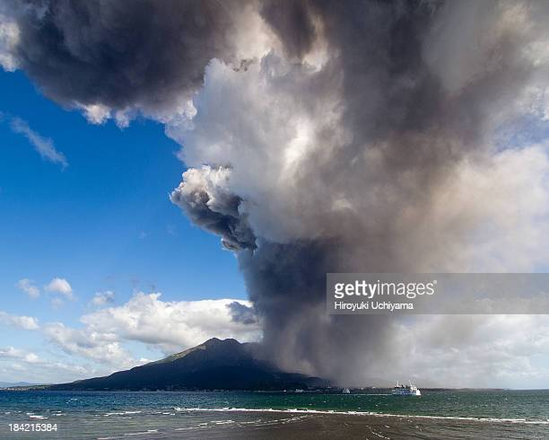 Approaching volcanic ash cloud