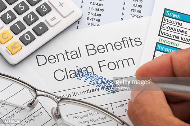 Approved Dental benefits claim