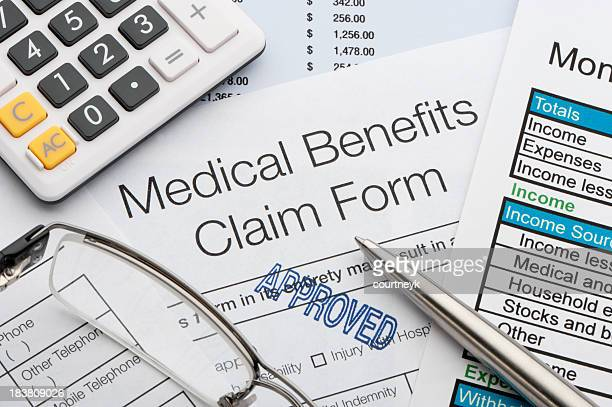 Approved Medical benefits claim form