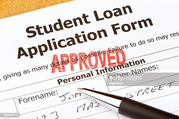 Approved Student Loan Application Form