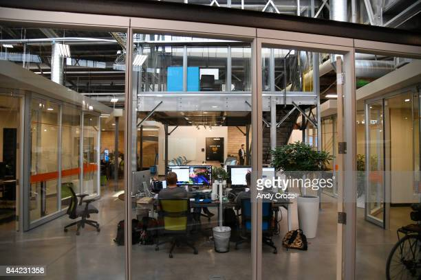 AppThis offices inside Industry Denver a coworking space along Brighton Blvd September 08 2017