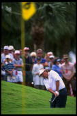 Raymond Floyd hits a ball during the PGA Senior's Championship held at the PGA National Golf Club in Palm Beach Gardens Florida Mandatory Credit JD...