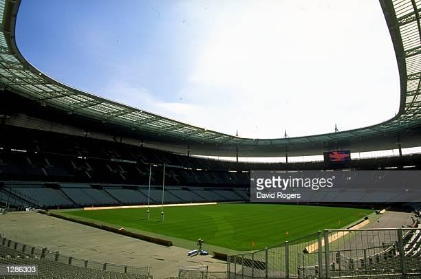 General view of the Stade de France in St Denis Mandatory Credit David Rogers /Allsport