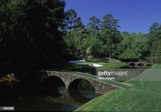 A general view of the course at the US Masters in Augusta National in Georgia USA Mandatory Credit Allsport UK /Allsport