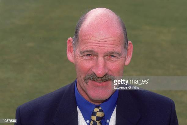 Portrait of Manager Clive Rice of Nottinghamshire County Cricket Club taken at a photocall at Trent Bridge in Nottingham England Mandatory Credit...