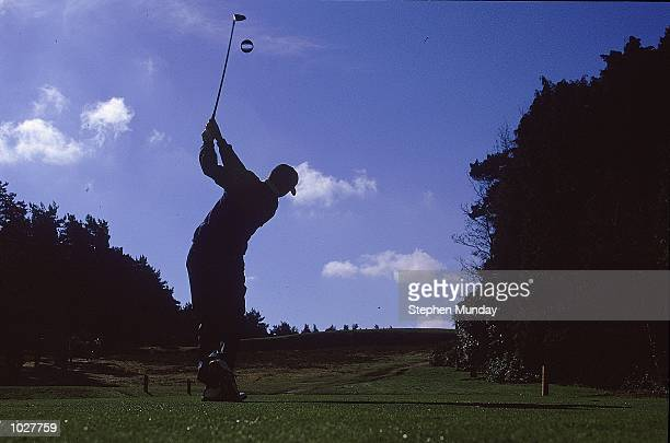 Sergio Garcia of Spain and Continental Europe drives while in the Greensomes during the inagural Eurobet Seve Ballesteros Trophy between Continental...