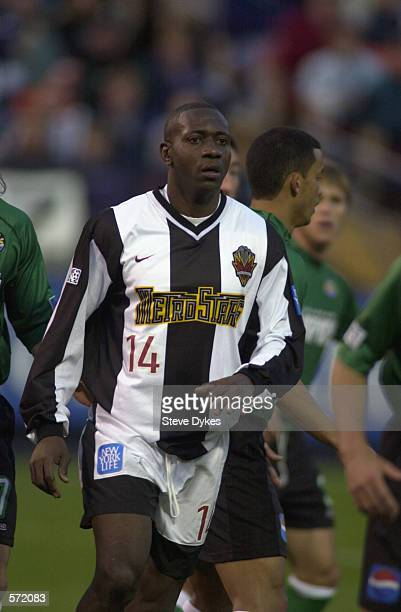 Adolfo Valencia of the New York / New Jersey MetroStars observes his team against the Colorado Rapids at Mile High Stadium in Denver Colorado...