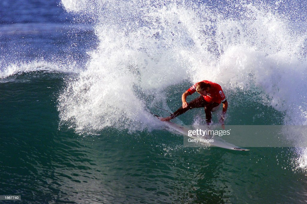 Rip Curl Pro Bells Beach Victoria Australia April Association of Surfing Professionals world number 15 Nathan Webster scored a convincing victory...