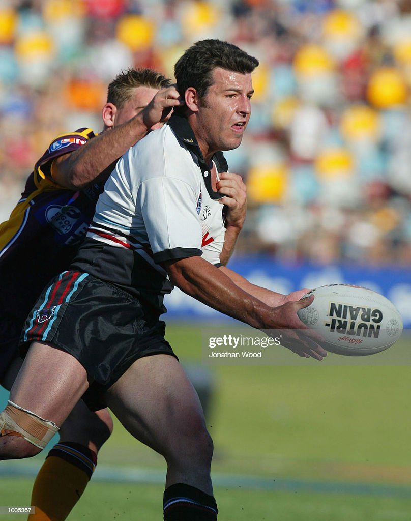 Craig Gower #7 of Penrith in action during the National Rugby League Match between the Brisbane Broncos and the Penrith Panthers, played at ANZ Stadium, Brisbane, Australia. DIGITAL IMAGE. Mandatory Credit: Jonathan Wood/Getty Images