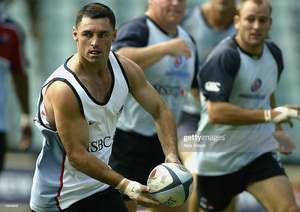 Duncan McRae of the Waratahs in action during the Waratahs Training Session before their clash with the ACT Brumbies tomorrow night,at Aussie Stadium, Sydney, Australia Mandatory Credit: Nick Wilson/Getty Images