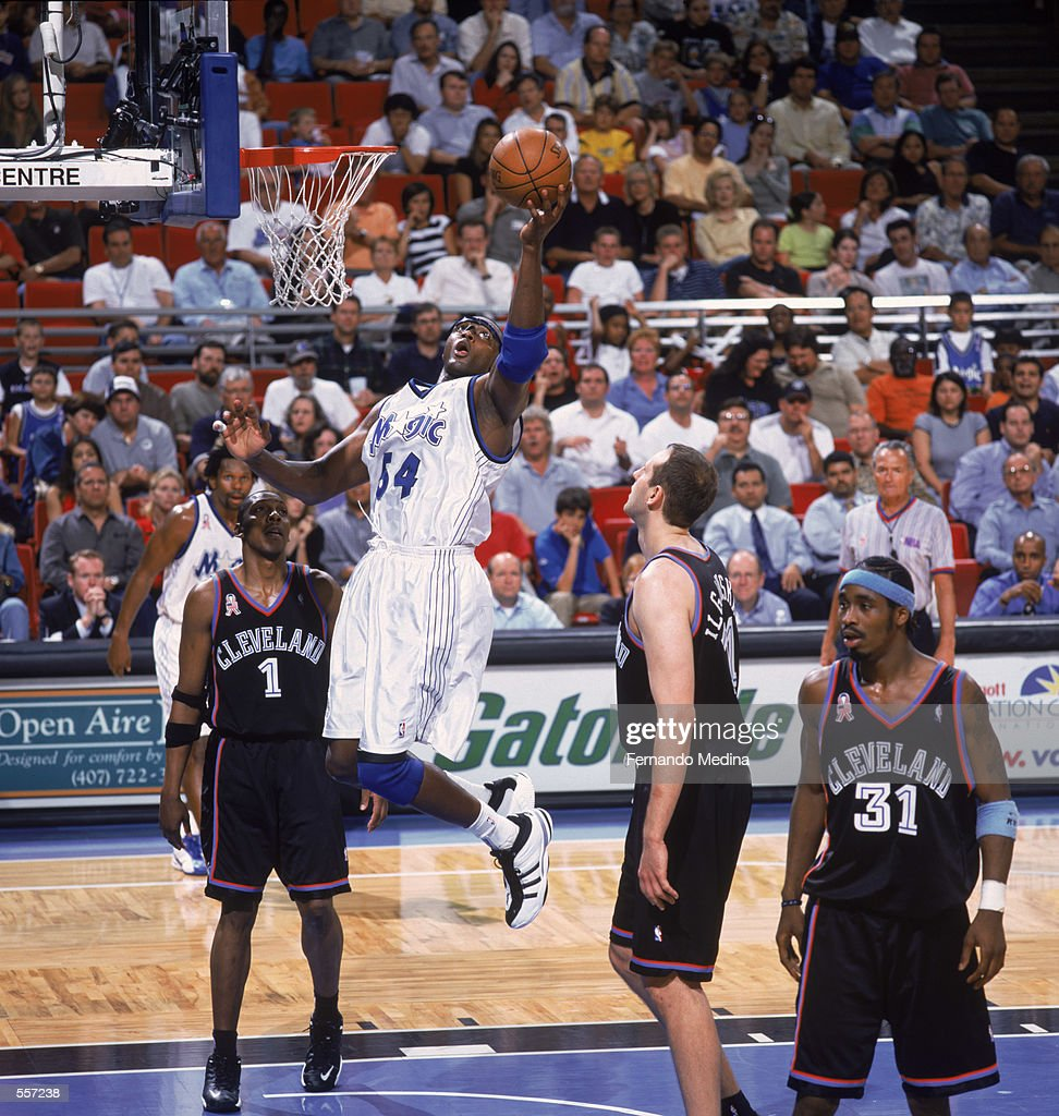 Horace Grant 54 of the Orlando Magic shoots