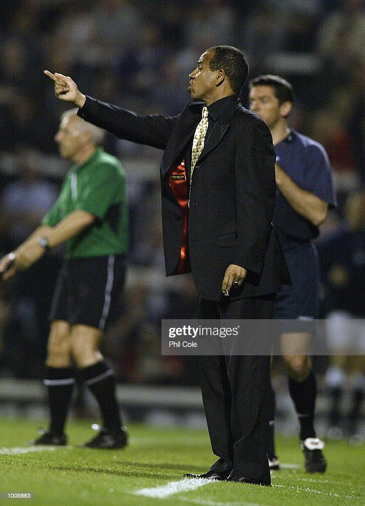 Fulham manager Jean Tigana during the FA Barclaycard Premiership match between Fulham and Bolton Wanderers at Craven Cottage, London. DIGITAL IMAGE Mandatory Credit: Phil Cole/Getty Images