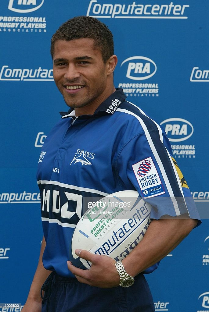 Jason Robinson of Sale Sharks, who has been nominated in the PRA Computacenter Rugby Players'' Awards poses during a photocall at Heywood Road, Sale, Manchester. DIGITAL IMAGE. Mandatory Credit: Alex Livesey/Getty Images