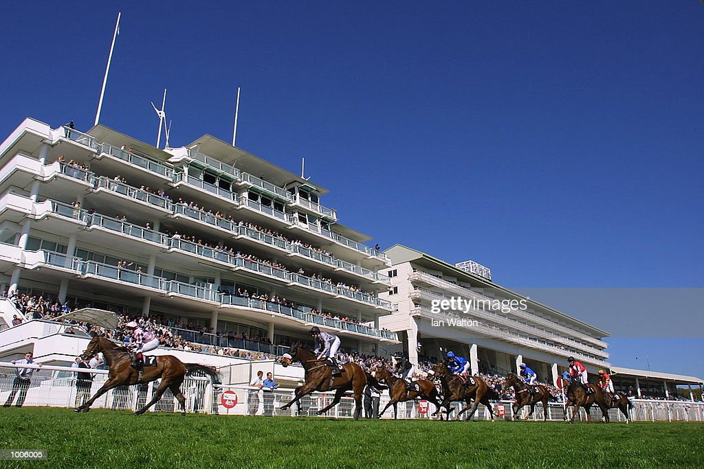 K. Fallon riding Seignosse comes home to land the Stanley Racing handicap stakes at Epsom Race Course, Surrey. DIGITAL IMAGE Mandatory Credit: Ian Walton/Getty Images