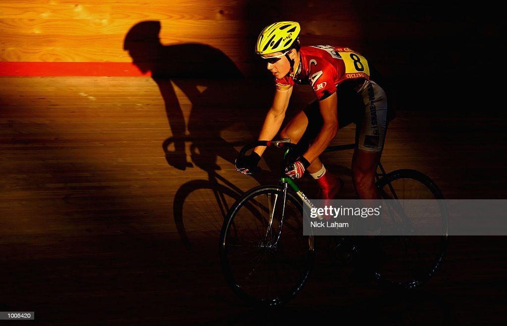 Luke Wright of South Australia in action during the U19 30k Madison during the National Track Championships held at the Dunc Gray Velodrome, Sydney, Australia. Mandatory Credit: Nick Laham/Getty Images