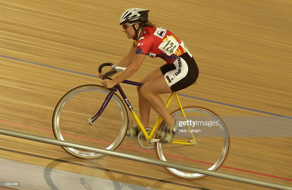 Renee Braithwaite of South Australia in action during the U19 Womens 10k Race during the National Track Championships held at the Dunc Gray Velodrome, Sydney, Australia. Mandatory Credit: Nick Laham/Getty Images
