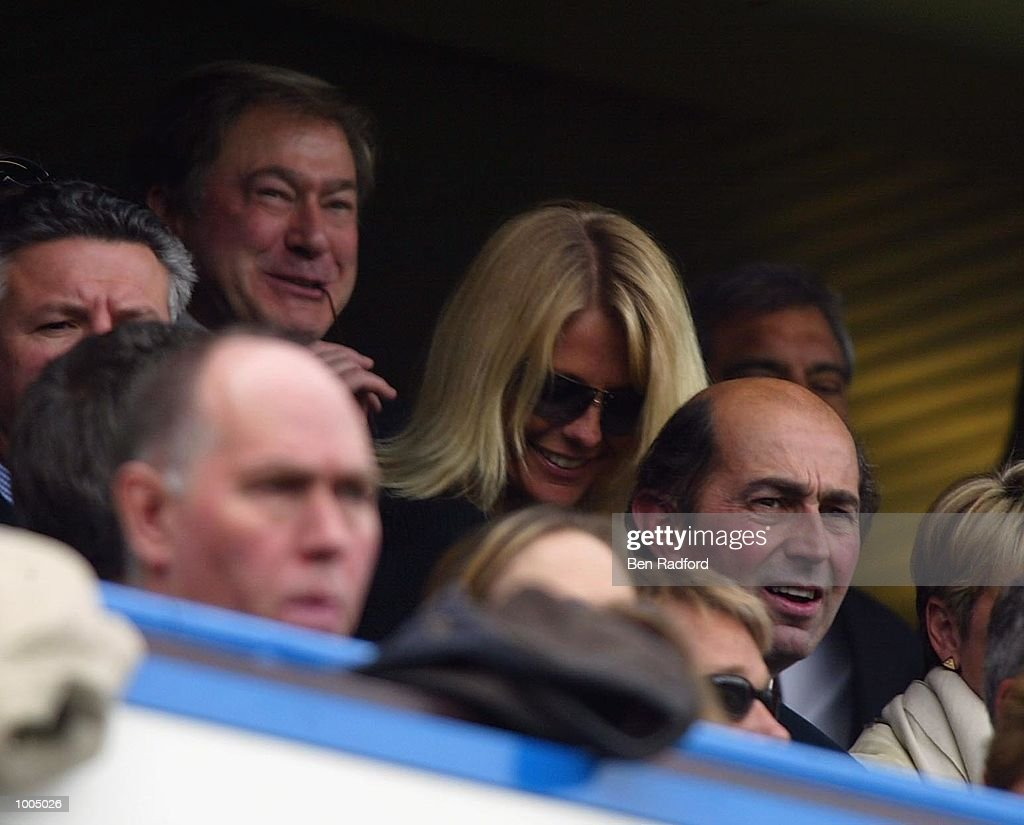 Ulrika Jonsson during the FA Barclaycard Premiership match between Chelsea and Manchester United at Stamford Bridge, London. DIGITAL IMAGE Mandatory Credit: Ben Radford/Getty Images