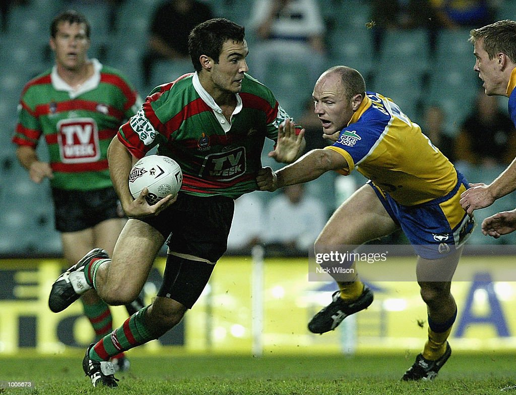 Wade McKinnon #1 of Souths in action during the Round 6 NRL Match between South Sydney and Parramatta being played at Aussie Stadium, Sydney, Australia. DIGITAL IMAGE Mandatory Credit: Nick Wilson/Getty Images