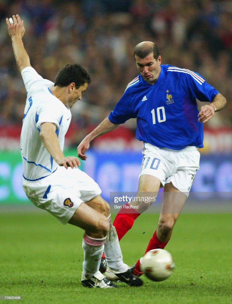 Zinedine Zidane Yuri Nikiforov