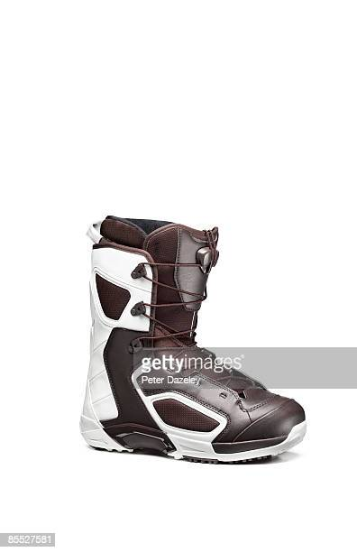 Apres ski boot on white background