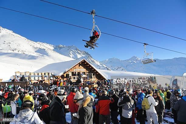 Détente après le Ski