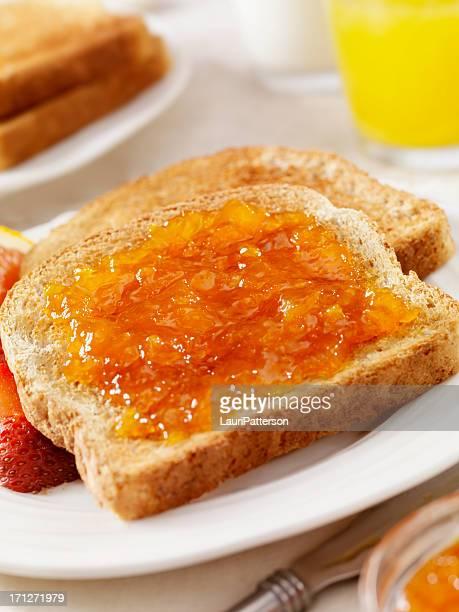 Apricot Jam on Toast