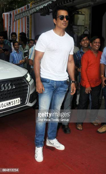 Sonu Sood during the inauguration of new office premise of the Central Board of Film Certification in Mumbai