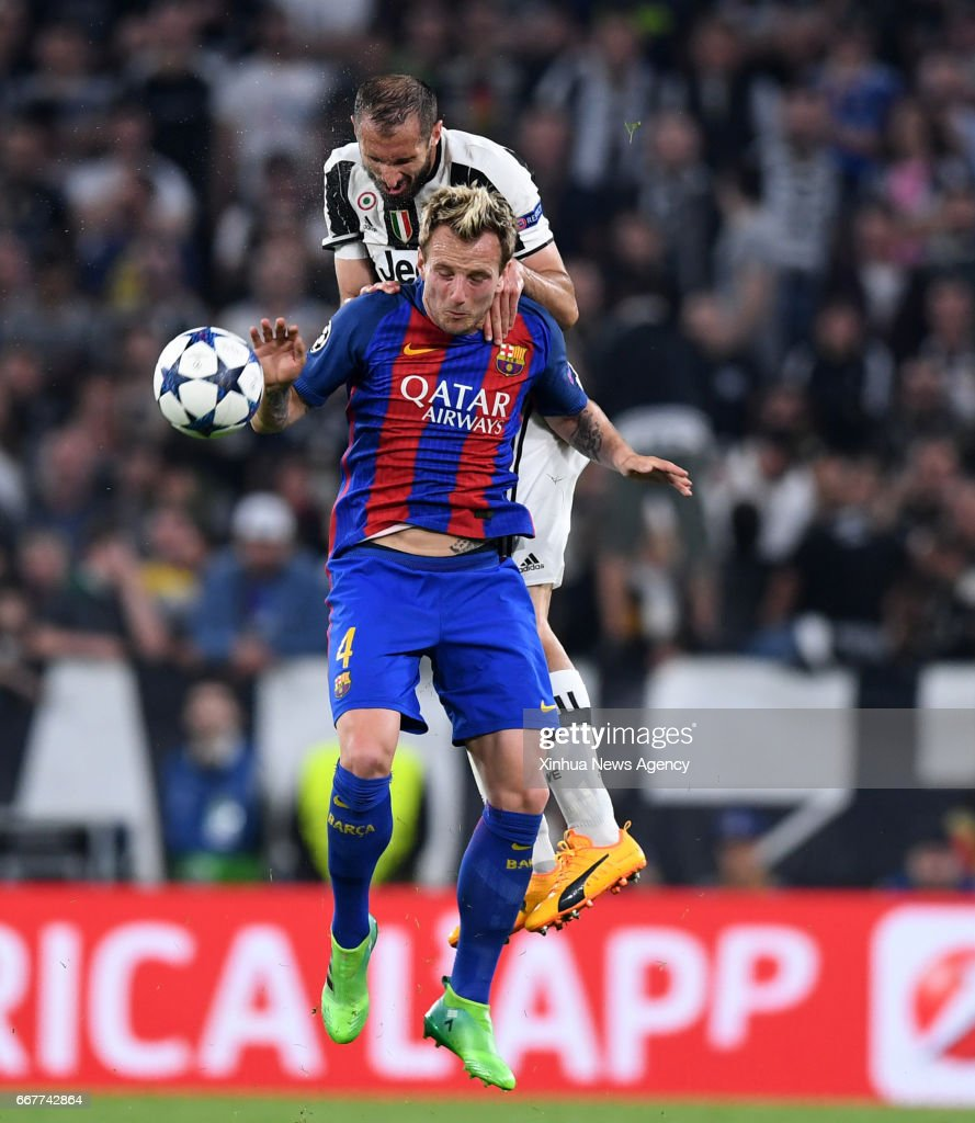 TORIN April 11 2017 Barcelona s Ivan Rakitic Front vies