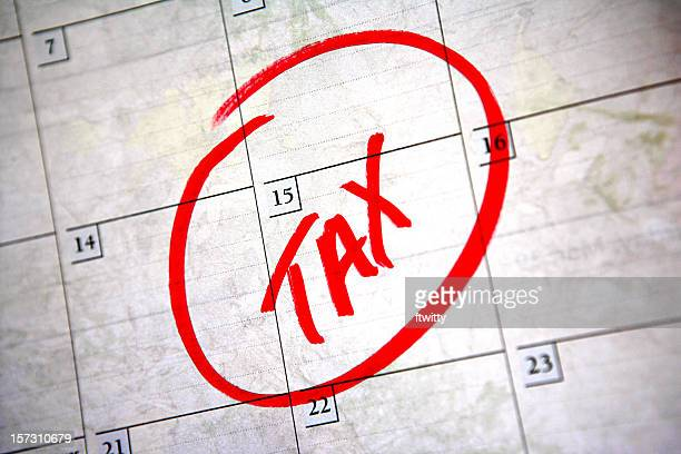 Le 15 avril de taxes